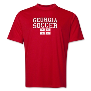 Georgia Soccer Training T-Shirt (Red)