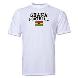 Ghana Football Training T-Shirt (White)