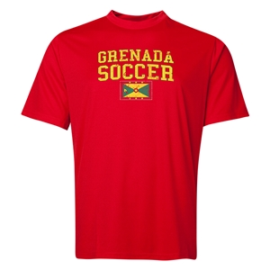 Grenada Soccer Training T-Shirt (Red)