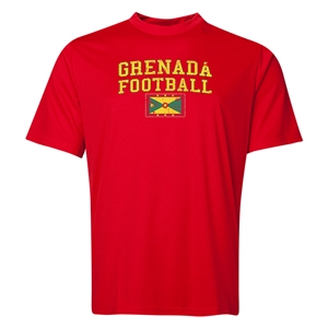 Grenada Football Training T-Shirt (Red)