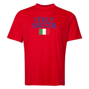 Italy Soccer Training T-Shirt (Red)