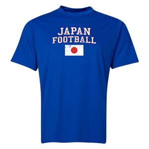 Japan Football Training T-Shirt (Royal)