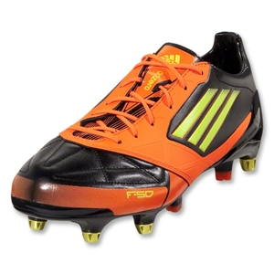 adidas F50 adizero XTRX SG Leather (Black/Electricity/Warning)