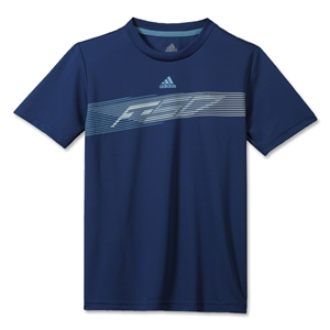 adidas Youth F50 Poly T-Shirt (Navy)