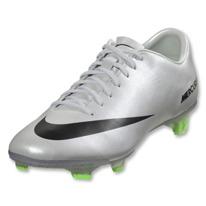 Nike Mercurial Veloce FG (Metallic Platinum/Electric Green)