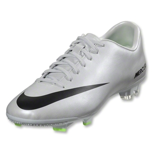 Nike Mercurial Victory IV FG (Metallic Platinum/Electric Green)
