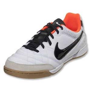 Nike Tiempo Natural IV IC Junior (White/Total Crimson/Black)