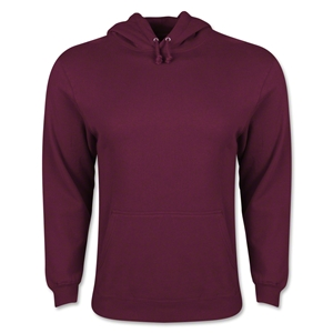 Hooded Pullover Fleece (Maroon)