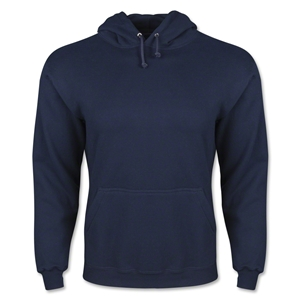 Hooded Pullover Fleece (Navy)