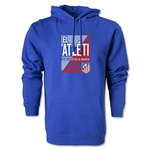 Atletico Madrid El Atleti Hoody (Royal)