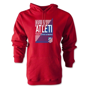 Atletico Madrid El Atleti Hoody (Red)