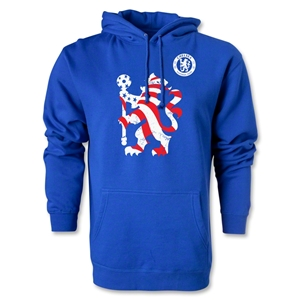 Chelsea Graphic Hoody (Royal)