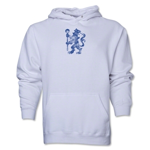 Chelsea Distressed Lion Hoody (White)