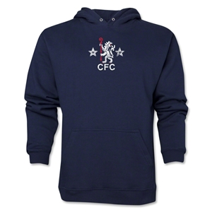 Chelsea Distressed Retro Hoody (Navy)