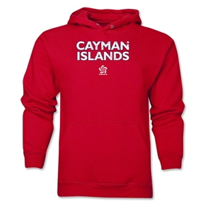 Cayman Islands CONCACAF Distressed Hoody (Red)