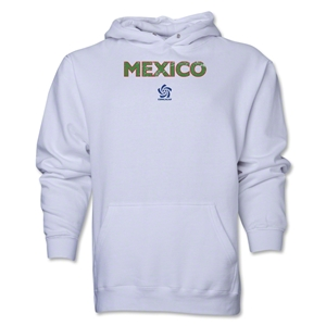 Mexico CONCACAF Distressed Hoody (White)