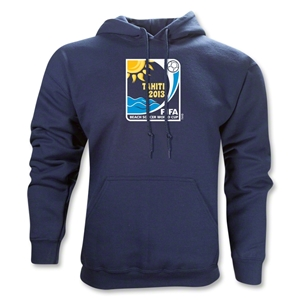 FIFA Beach World Cup 2013 Emblem Hoody (Navy)