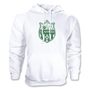 FC Nantes Disressed Crest Hoody (White)