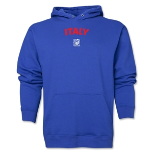 Italy FIFA U-17 Women's World Cup Costa Rica 2014 Men's Core Hoody (Royal)