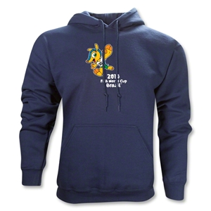 2014 FIFA World Cup Brazil(TM) Mascot Hoody (Navy)