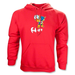 2014 FIFA World Cup Brazil(TM) Mascot Hoody (Red)