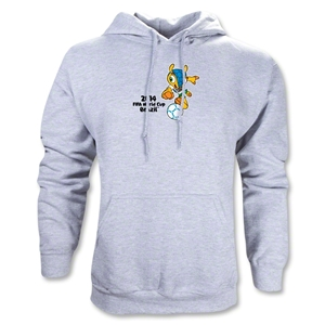 2014 FIFA World Cup Brazil(TM) Mascot Hoody (Ash Gray)