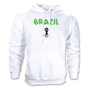 Brazil 2014 FIFA World Cup Brazil(TM) Core Hoody (White)