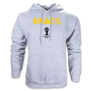 Brazil 2014 FIFA World Cup Brazil(TM) Core Hoody (Ash Gray)
