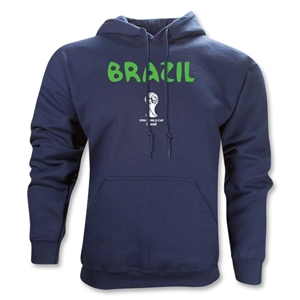 Brazil 2014 FIFA World Cup Brazil(TM) Core Hoody (Navy)