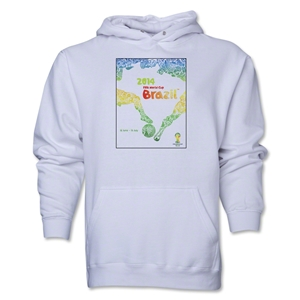 2014 FIFA World Cup Brazil(TM) Official Event Poster Hoody (White)
