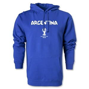 Argentina 2014 FIFA World Cup Brazil(TM) Men's Core Hoody (Royal)