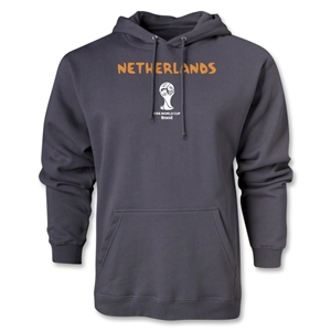 Netherlands 2014 FIFA World Cup Brazil(TM) Core Hoody (Dark Grey)
