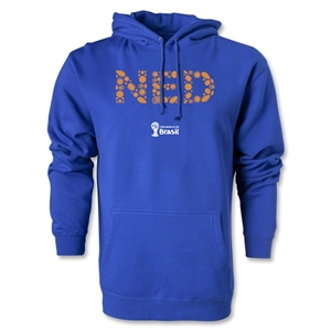 Netherlands 2014 FIFA World Cup Brazil(TM) Elements Hoody (Royal)