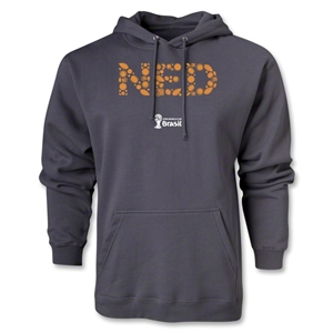 Netherlands 2014 FIFA World Cup Brazil(TM) Elements Hoody (Dark Grey)