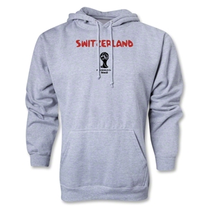 Switzerland 2014 FIFA World Cup Brazil(TM) Men's Core Hoody (Ash)