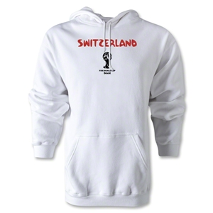 Switzerland 2014 FIFA World Cup Brazil(TM) Men's Core Hoody (White)