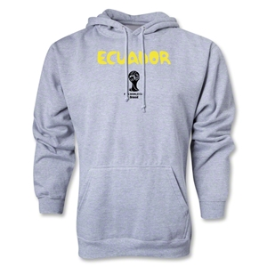Ecuador 2014 FIFA World Cup Brazil(TM) Men's Core Hoody (Ash)