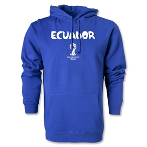 Ecuador 2014 FIFA World Cup Brazil(TM) Men's Core Hoody (Royal)