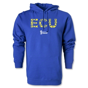 Ecuador 2014 FIFA World Cup Brazil(TM) Men's Elements Hoody (Royal)