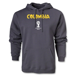 Colombia 2014 FIFA World Cup Brazil(TM) Men's Core Hoody (Dark Grey)