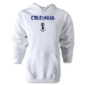 Colombia 2014 FIFA World Cup Brazil(TM) Men's Core Hoody (White)