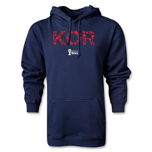 South Korea 2014 FIFA World Cup Brazil(TM) Men's Elements Hoody (Navy)