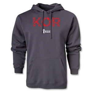 South Korea 2014 FIFA World Cup Brazil(TM) Men's Elements Hoody (Dark Gray)