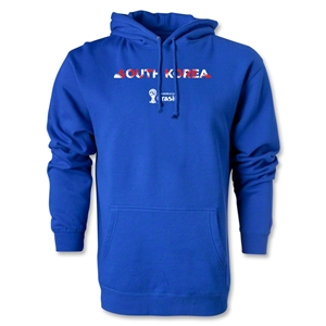 South Korea 2014 FIFA World Cup Brazil(TM) Men's Palm Hoody (Royal)