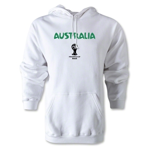 Australia 2014 FIFA World Cup Brazil(TM) Men's Core Hoody (White)