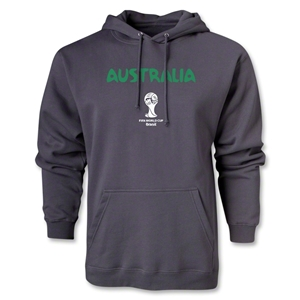 Australia 2014 FIFA World Cup Brazil(TM) Men's Core Hoody (Dark Gray)