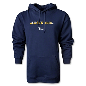 Australia 2014 FIFA World Cup Brazil(TM) Men's Palm Hoody (Navy)
