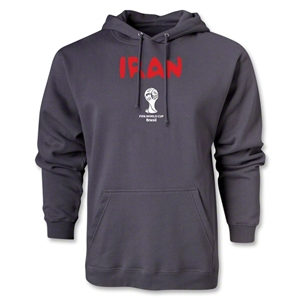 Iran 2014 FIFA World Cup Brazil(TM) Men's Core Hoody (Dark Grey)