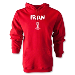 Iran 2014 FIFA World Cup Brazil(TM) Men's Core Hoody (Red)