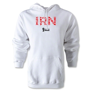 Iran 2014 FIFA World Cup Brazil(TM) Men's Elements Hoody (White)